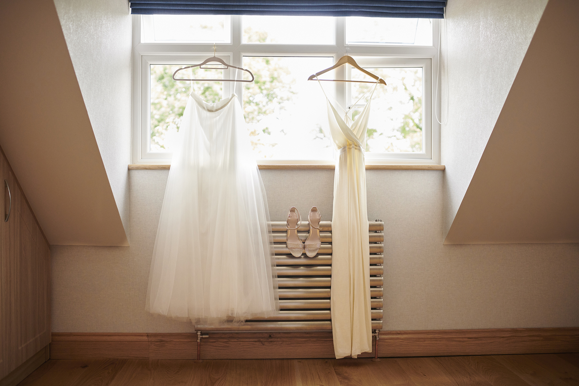 jumpsuit and tulle wedding skirt rock the frock essex